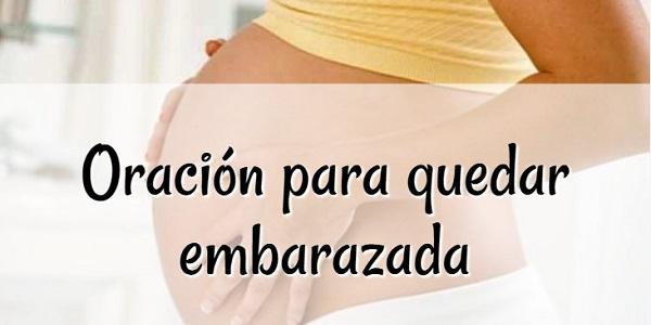 Oración para quedar embarazada